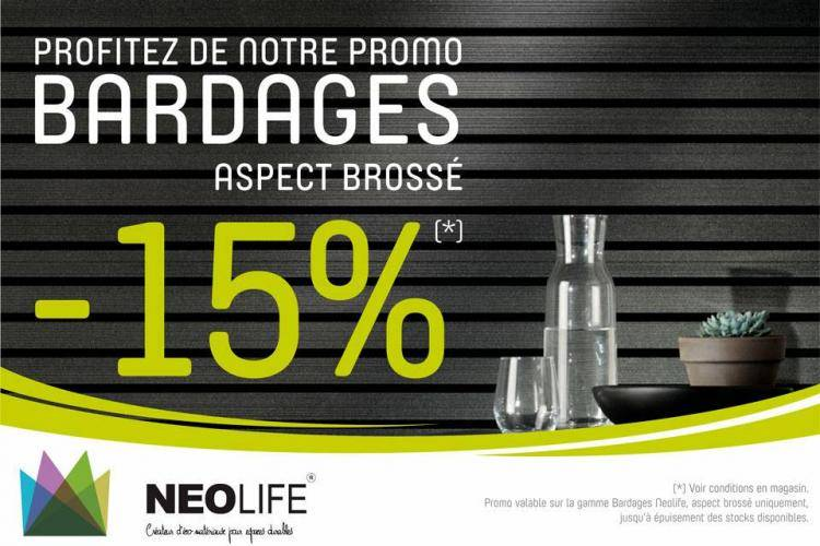 ACTION Bardage Neolife aspect brossé