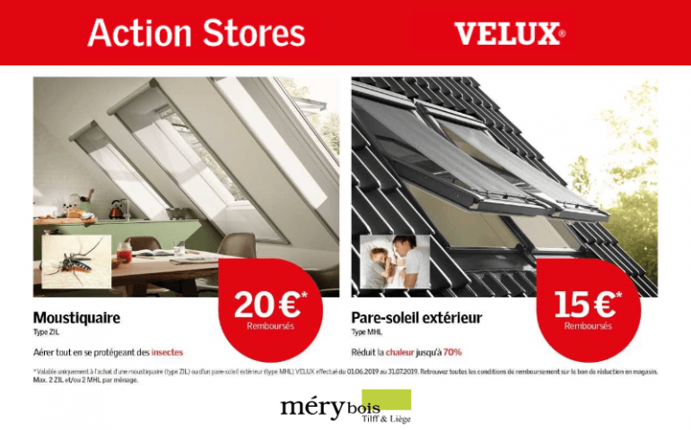 Action STORES VELUX
